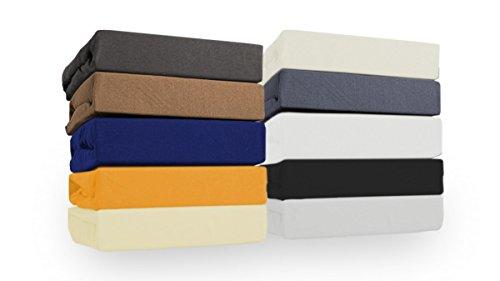 SW Bedding Sábana bajera para camas de canapé, weiß, 120/200 cm bis 160/220 cm