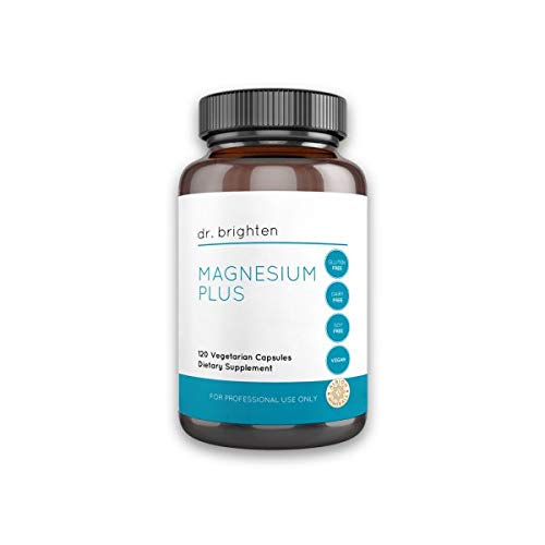 Dr. Brighten Magnesium Plus - Beneficial in Maintaining a Healthy Mood, Sleep, Hormone Balance and Reducing Symptoms of PMS and Menstrual Cramps