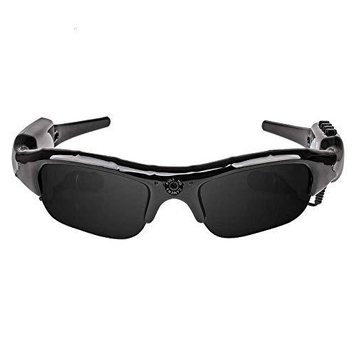 Gafas de sol multifuncionales Bluetooth Gafas Cámara HD 1080 p Mini DV grabadora Bluetooth Reproductor MP3 Conducción Bicicletas Esquí Deportes al aire libre Gafas