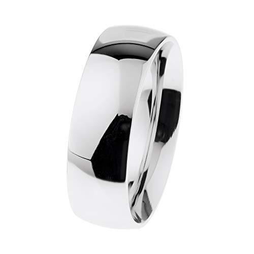 Ernstes Design R602 48-71 - Anello in acciaio INOX lucido, 6,5 mm