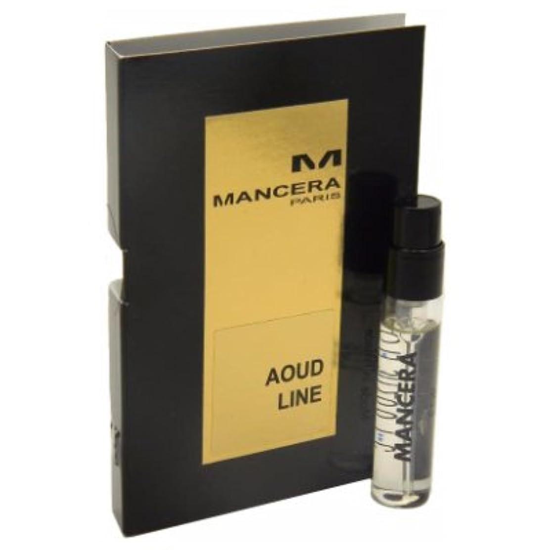 驚き魅力何Mancera Aoud Line EDP Vial Sample 2ml(マンセラ ウード ライン オードパルファン 2ml)[海外直送品] [並行輸入品]