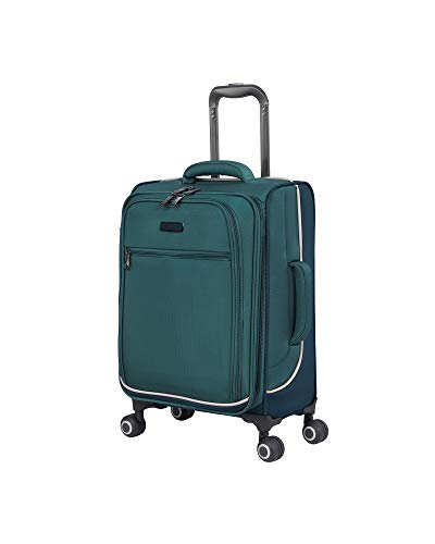 it luggage 22' Encircle Softside Expandable Carry-On, Teal Blue