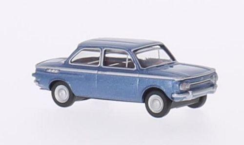 Unbekannt NSU TT, metallic-hellblau, Modellauto, Fertigmodell, Herpa 1:87