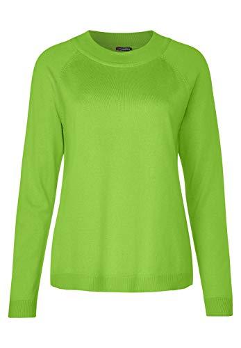 Street One Damen Unifarbener Pullover Flash Lime 38