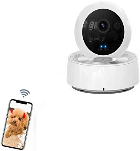 Hundekamera Haustiermonitor Innenkatzenkamera Nachtsicht 2-Wege-Audio-Bewegungserkennungs-Haustierkamera und Heim-Innenüberwachungskamera von 1080P