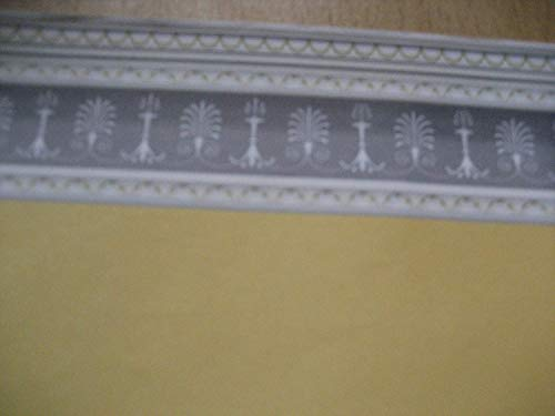 The Dolls House Emporium Papier Peint Jaune Clair
