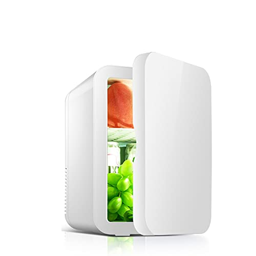 Mini Nevera,Mini Fridge, Nevera Portátil Eléctrica Refrigerador, Nevera Camping frigoríficos En Coche Nevera,8L