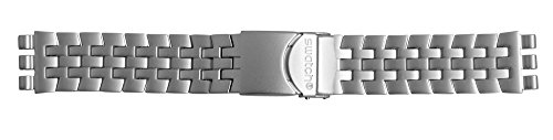 Swatch Ersatzband Greyscale Aluminium 19 mm