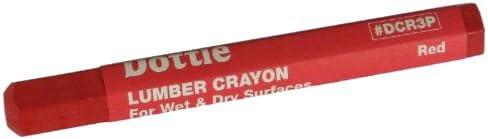 Cheap SALE Start L.H. Dottie DCR3P Lumber Crayon Red 3-Pack 1 year warranty