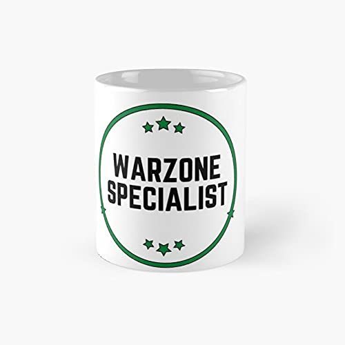 Warzo.ne Specialist Classic Mug - Ceramic Coffee White (11 Ounce) Tea Cup Gifts For Bestie, Mom And Dad, Lover, Lgbt