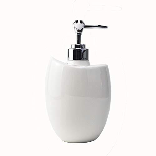 hanxiaoyishop Dispensador de Jabon Botella de jabón de Mano de Estilo nórdico Capacidad Grande Champú para el hogar y Botella de Gel de Ducha Adecuado para Cocina y baño Dispensador Jabon