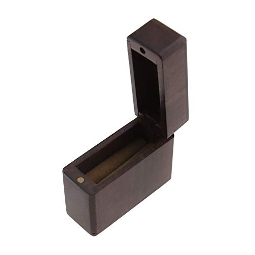 Create Idea Romántico anillo caja de boda proponer compromiso caja embalaje joyería caja de madera único anillo magnético ceremonia portátil