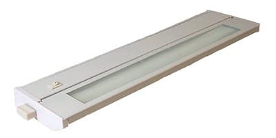 American Lighting 043T Hardwired Fluorescent Under Cabinet Lighting, White
