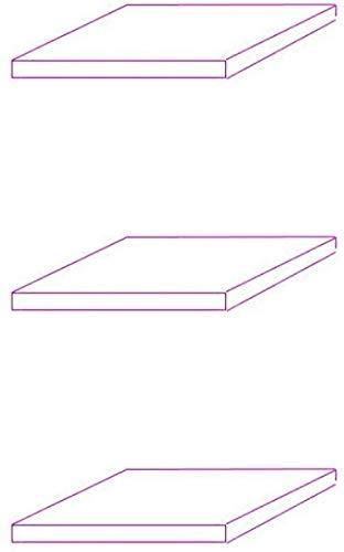 BR-Wohndesign 3er Set Glasboden (Erweiterung)