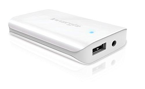 Innergie kompaktes 65W universal Ladegerät mit USB-Port für gleichzeitiges und schnelles Laden, durch die zusätzlichen Adapter-Anschlüsse mit Acer, Gateway, Asus, Dell, Fujitsu, HP, Compaq, Lenovo, IBM, LG, MSI, NEC, Panasonic, Samsung, Sony, Toshiba usw. kompatibel, weiß