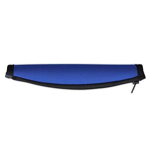 kwmobile Kopfbügelpolster kompatibel mit Bose Quietcomfort 15 / QC15 - Ersatz Neopren Bügelpolster Kopfhörer Blau