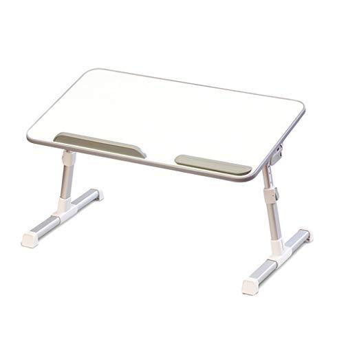 ZHAOSHUNLI Support de Levage Pliable Paresseux de lit de Table avec Ventilateur (Size : Pearl White A6L)