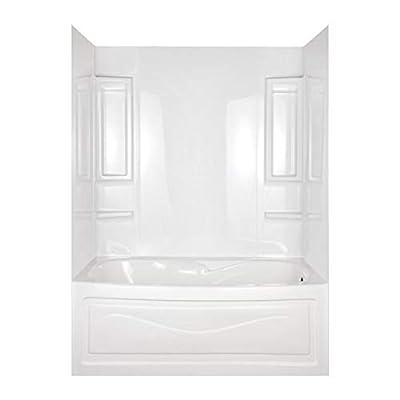 ASB 39240 Vantage Tub Wall, White, 5-Piece
