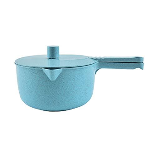 Ensalada Spinner multifuncional de trigo, pajita de fruta, manivela de mano, deshidratador de vegetales para suministros de cocina, color azul