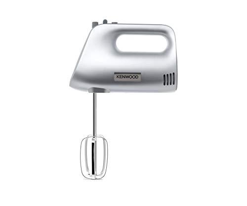 KENWOOD HMP30.A0SI Handmixer 450W 5 Geschwindigkeiten + Turbo - Schneebesen - Kneter - silberner Kunststoffk�rper