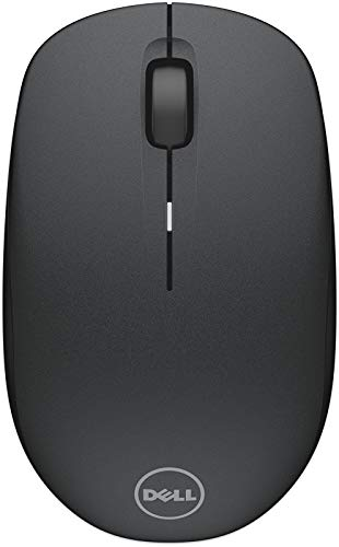 Dell WM126 Wireless Optical Mouse (Black)
