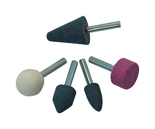 Boormachine slijpsteen set 5-delig slijpstenen voor boormachine slijpstift