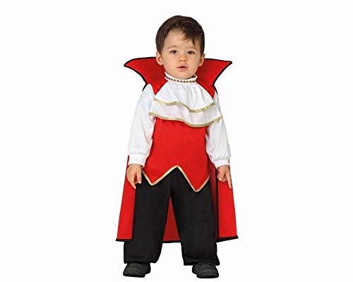 Atosa-26771 Disfraz Vampiro, Color Rojo, 0 a 6 Meses (26771)