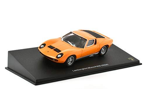 OPO 10 - Coche 1/43 Compatible con Lamborghini Miura P400 1966 - Ixo para la colección Hachette (05)
