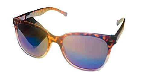 Converse Gafas de sol para hombre polarizadas de plástico cuadradas de tortuga H053