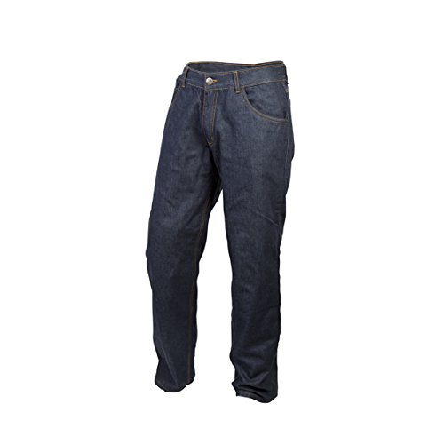 ScorpionExo Covert Pro Jeans Men's Reinforced Motorcycle Pants (Blue, Size 36)