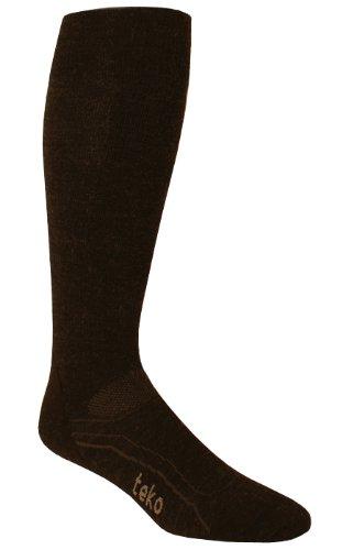 Teko Ski Ultralight Socke, Damen Mädchen Jungen Herren, anthrazit