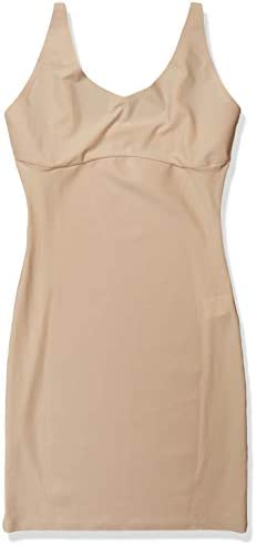 Yummie Women s Hidden Curve Firm Control Shapewear Slip Frappe Medium product image