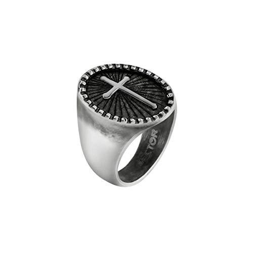 Sector Jewels Anello da uomo, Collezione SPIRIT, in acciaio - SZQ26025