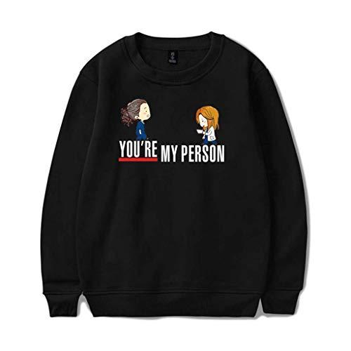 Hoodieat Mens Hoodie Grey's Anatomy Frühling Und Herbst Sweatshirt Für Jugendliche You're My Person'