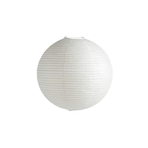 Rice Paper Shade Lampenschirm Ø50cm, klassisches weiß Papier Eisenstruktur ohne Aufhängung