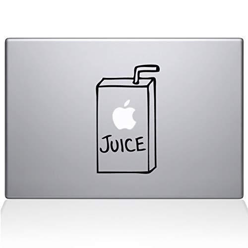 "MZKN Goods Apple Juice Vinyl Sticker Decal Cars Trucks Walls Windows Laptops Black 5.5""H x 3.5""W"