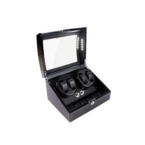 CCAN Uhrenbeweger Uhrenbeweger Boxen 4+6 Mechanischer Uhrenbeweger High-End Uhrenbox Plattenspieler Lack Uhrenbox Uhrenbeweger Uhrenbox Happy Life