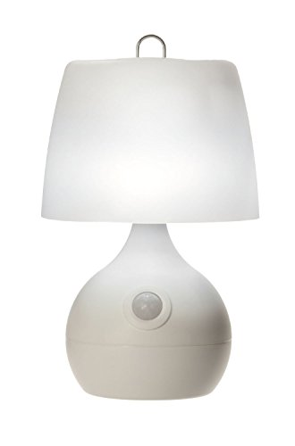 hp table lamps Light It! By Fulcrum, LED Wireless Motion Sensor Table Lamp, Wireless, Battery Operated, White