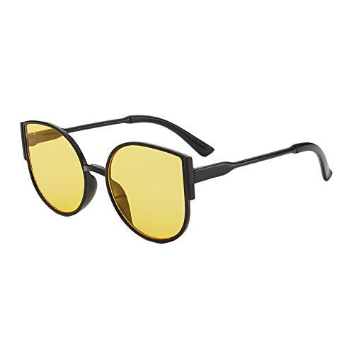 Gafas de Sol Gafas De Sol De Lujo A La Moda para Mujer, Hombre, Ojo De Gato, Gafas De Sol A La Moda, Montura De Pc Vintage, Gafas, Sombras Retro 5