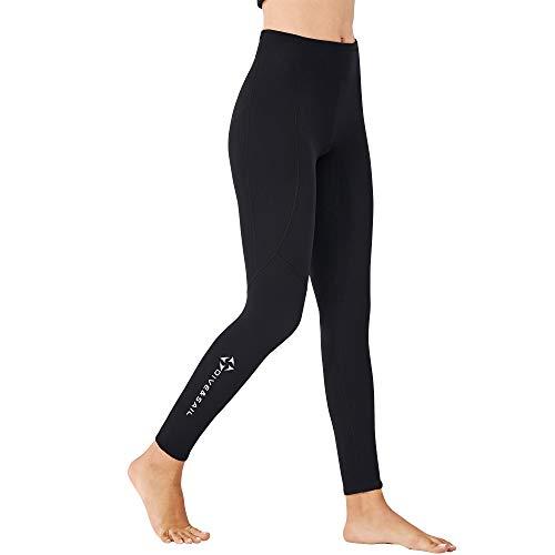 EUPTE 2mm Diving Wetsuit Pants Swimming Pants Leggings for Women Men...