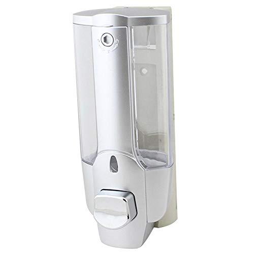 WDOIT Dispensador de jabón Montar en la Pared con Gel de Ducha Manual y dispensador de champú líquido, Cocina, baño y Ducha