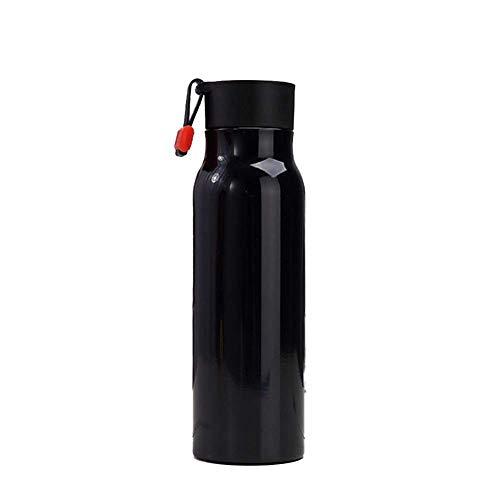 ZHAS Bottiglia per Acqua isolata sottovuoto, Bottiglia per Acqua in Metallo antisudore a Tenuta stagna Sahara Sailor, Senza BPA, Bottiglia per Acqua in Acciaio Inossidabile a Doppia Parete, Botti