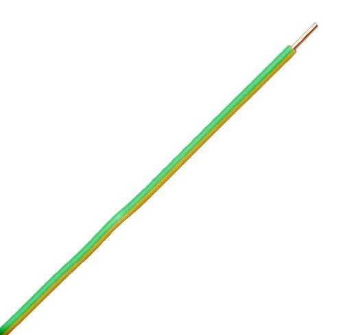 Kopp 154725002 Aderleitung H07 VU, 1 x 1.5 mm², 25 m, grün / gelb