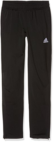adidas Jungen Tiro 17 Polyester Hose, Black/White, 152