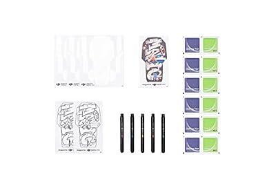 DJI Mavic Mini - DIY Creative Kit, Personalize your Drone, Blank Shell Sticker and Colourful Markers, Creative Artistic Look, Personalize your Mavic Mini, Mavic Mini Creative Kit, Unique Look by Dji