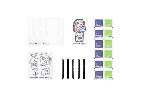 DJI Mavic Mini Kit Creativo - Tocco Artistico per Personalizzare il tuo Drone, Contiene Pennarelli Colorati, Adesivi da Disegnare, Panno per Pulizia, Adesivo 3M