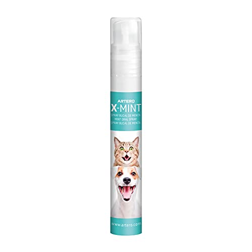 Artero X-Mint. Desodorante bucal instantáneo para tu perro o gato.