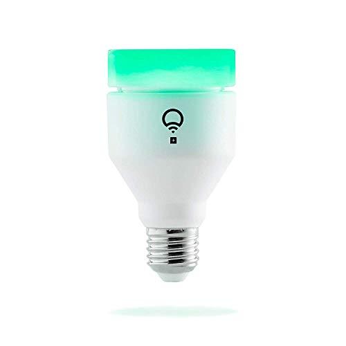 LIFX + (E27) Lampadina a LED Wi-Fi Smart con infrarossi per la visione notturna, regolabile, multicolor, dimmerabile, non richiede un...