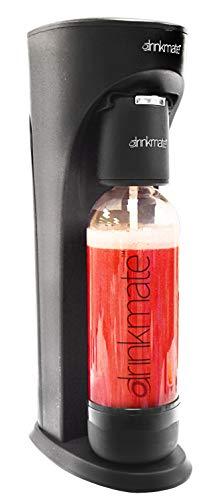 Happy Mix Drinkmate Getränkesprudler/Multisprudler schwarz, inkl. CO2 Zylinder, besprudelt Nicht nur Wasser
