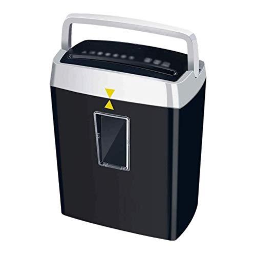 STRAW Destructor de Archivos de Alta Seguridad de 6 Hoja de Micro Profesional-Corte del Papel/CD/Tarjeta de Crédito Shredder